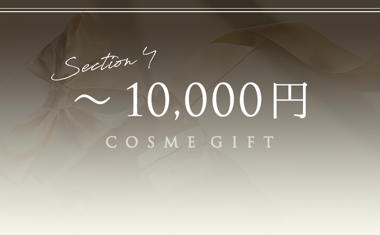 Section4 ~10,000円 COSME GIFT